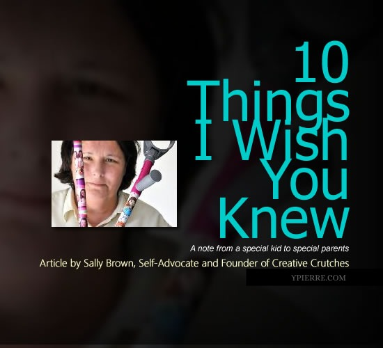 [Article] 10 Things I Wish You Knew